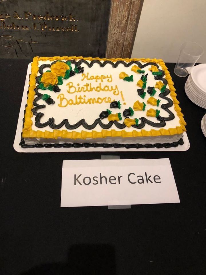 Fantastic Baltimore Jewish Life Picture Of The Day Kosher Cake Featured Personalised Birthday Cards Arneslily Jamesorg