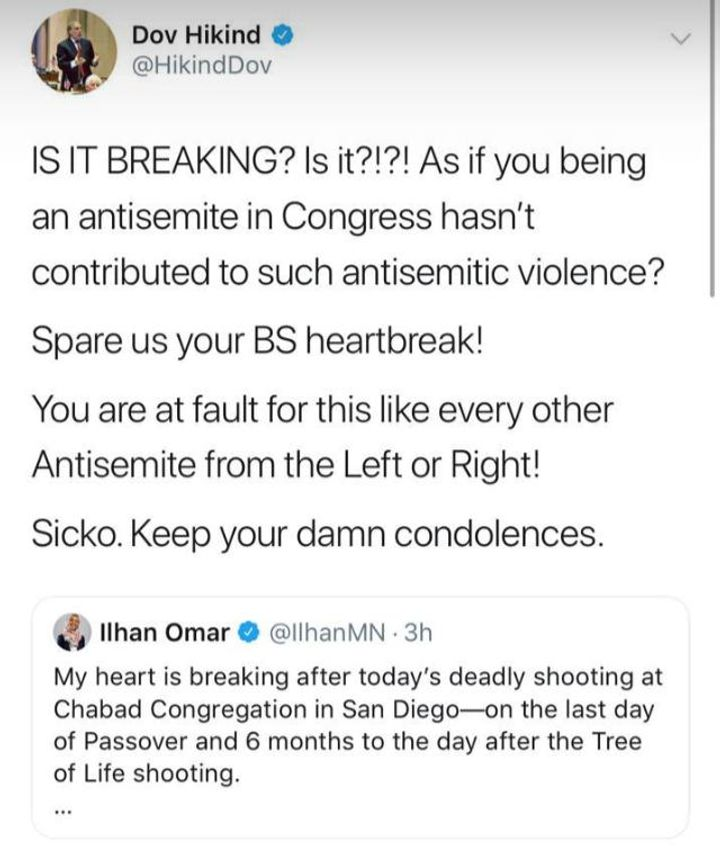"1b2ca96150f0e ""My heart is breaking after today s deadly shooting at Chabad Congregation  in San Diego—on the last day of Passover and 6 months to the day after the  Tree ..."
