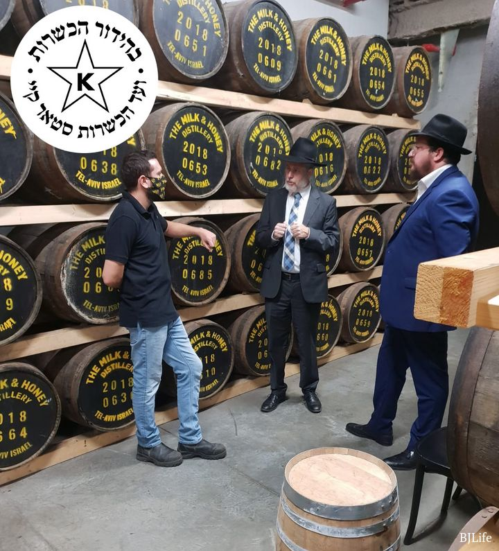 Israel's Milk & Honey Releases first Kosher Ex-Sherry single malt Certified by STAR-K 2
